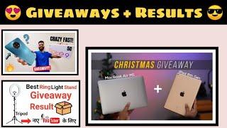 #InternationalGiveaway Beebom Mac Book Air Giveaway ,Technical Guruji Note 9 Giveaway, More Giveaway