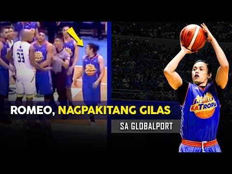 Unang Laro ni Romeo sa TNT, Kamusta?  Romeo vs Nabong?  PG Romeo is HERE!!!