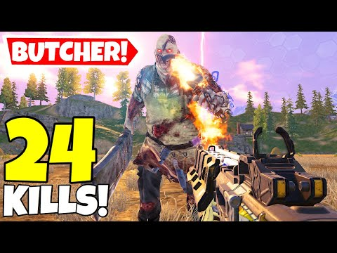 TEMPEST VS THE BUTCHER IN CALL OF DUTY MOBILE BATTLE ROYALE!