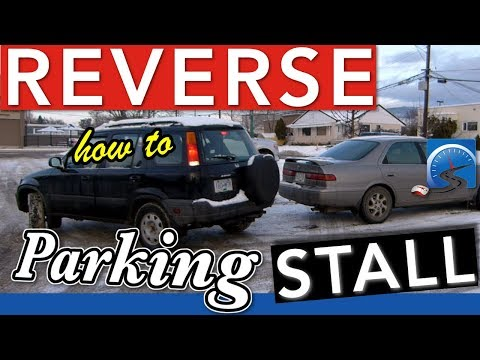 How to Reverse Stall (Bay) Park for Your Driver's License Test