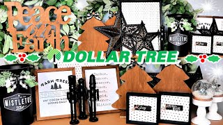 10 Dollar Tree CHRISTMAS DIYS | DIY Dollar Tree Farmhouse Christmas Decor 2019