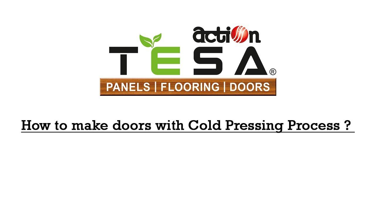 Action TESA Door Skin Make Door With Cold Pressing Process