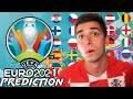 *FINAL* EURO 2021 PREDICTION
