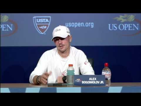 2011 US Open Press Conferences: Alex Bogomolov Jr. (First Round)