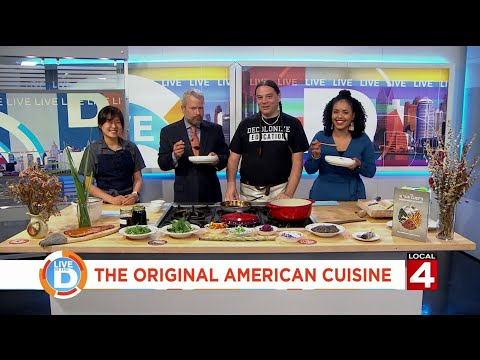 Sioux Chef Brings Native American Cuisine To Live In The D