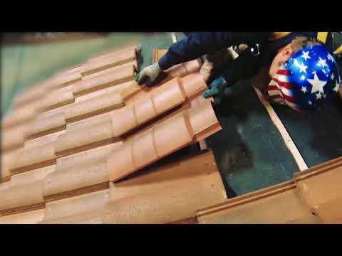 O'Hagin -  Attic Vent For Concrete S Tile Roofing - Installation Video