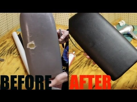 Black Ford Explorer >> HOW TO: Wrap Vinyl On a Center Console Cover - YouTube