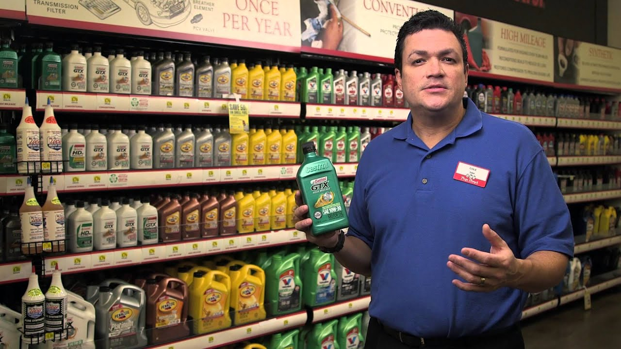 different types of motor oil pep boys youtube