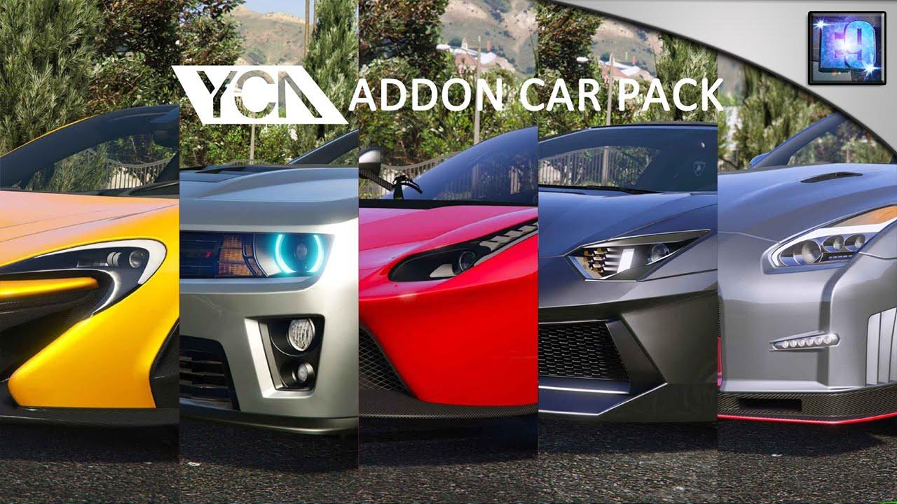 gta 5 addon car pack