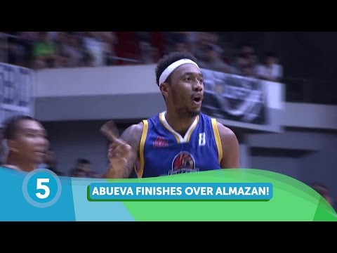 PBA All-Star 2017 (Luzon) Top 5 Plays