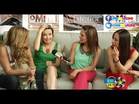 Ilse, Ivonne y Mimi [Flans] - Entrevista '15 Minutos de Fama' (2013)