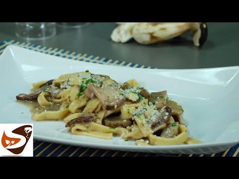 Generate Pasta ai funghi: porcini o champignon - primi piatti (pasta with mushrooms recipe) Pictures