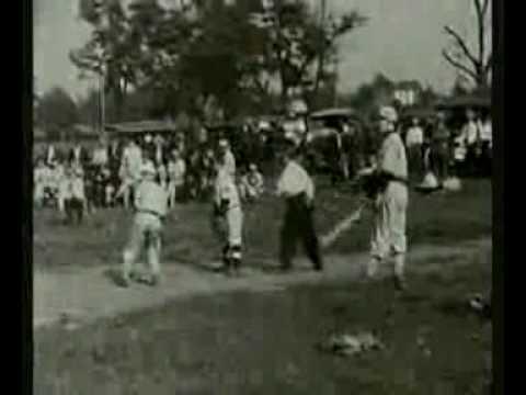 Deadball Era Amateur Game Footage