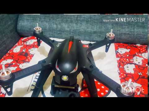 Mjx bugs 3 flight with action cam