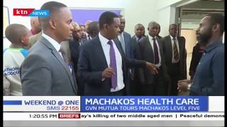 Governor Mutua orders streamlining of operations while touring Machakos level five hospital