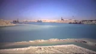 الحفر والتكريك بقناة الاتصال بالقطاع الاوسط 30مارس 2015