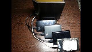 Ремонт HDD  USB. Не выбрасывайте старый диск - он ещё поработает -).