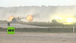 Tanques y helicópteros rusos muestran su poderío en el foro militar Army 2017