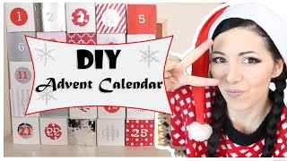 DIY ADVENT CALENDAR ❤ GIFT IDEAS