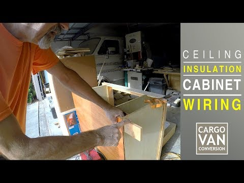 rv-kitchen-cabinet,-ceiling-insulation-&-ceiling-light-wiring