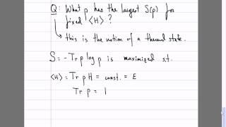 Quantum Theory, Lecture 11: Von Neumann Entropy. Canonical Ensemble. Bose-Einstein & Fermi-Dirac.