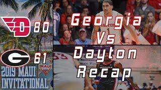 Georgia Basketball Vs Dayton Recap | Turnovers, Transition D, 3 PT Shooting