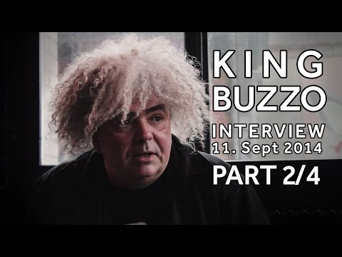 KING BUZZO Interview (2/4): Melvins discography & line-up changes