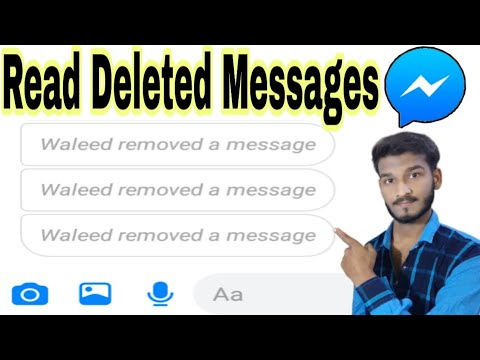 Read Deleted Messages On Messenger | See Removed Messages | Messenger Ke Delete Message Daikhe