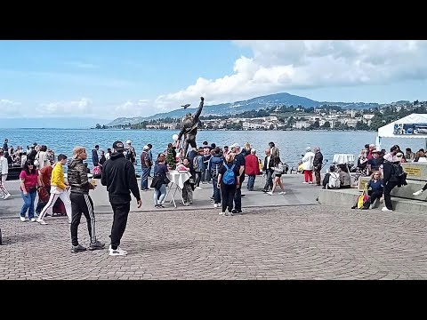 Freddie Celebration 2019 ~ Statue Scenes, Party Opener And It's A Beautiful Morning