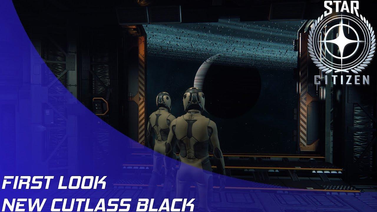 Download Star Citizen: New Cutlass Black Overview!