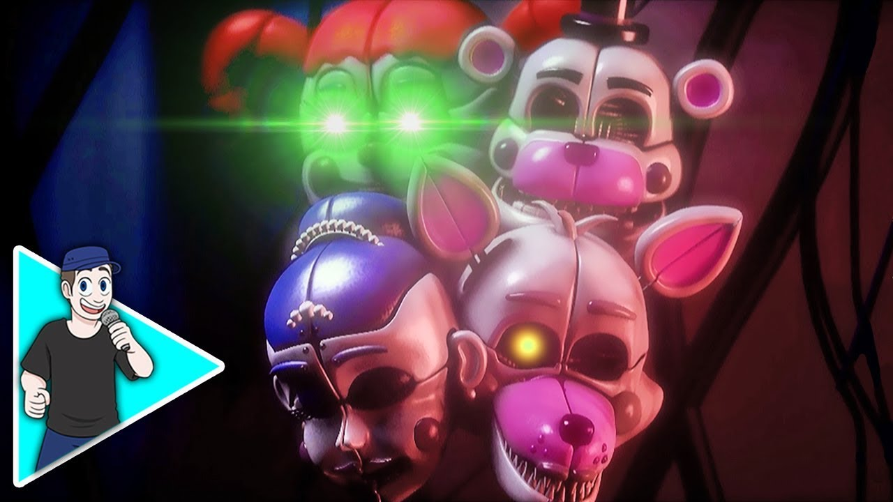 Sfm Fnaf Song Wanna Be Twisted Youtube