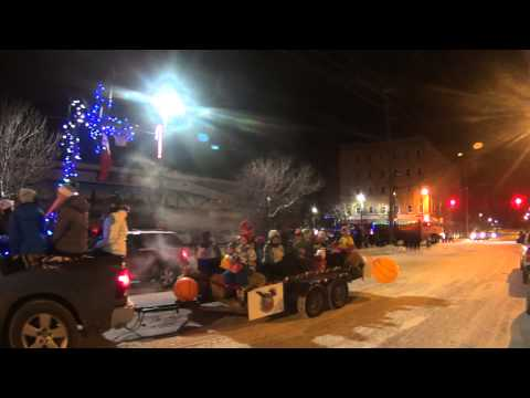 Kirkland Lake Santa Clause Parade Nov 28,2014
