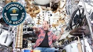Largest Drumkit - Meet The Record Breakers - Guinness World Records