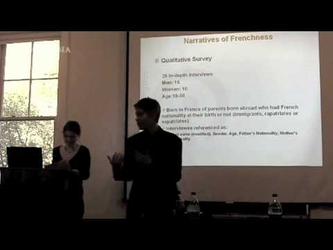 What it Means to Belong: Second Generation Immigrants in France and National Identity