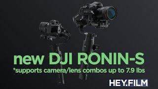 Ronin-S, DJI's new handheld gimbal | Hey.film podcast ep65