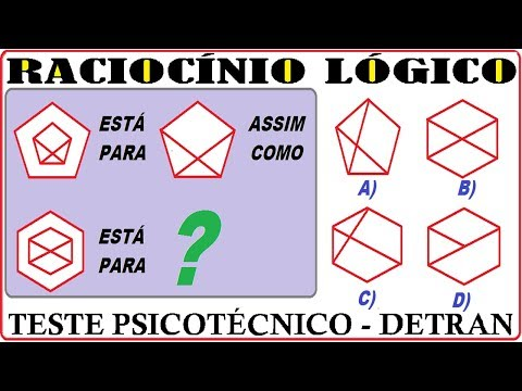 Raciocínio Lógico Sequência Número Figura Teste psicotécnico QI Quociente de Inteligência Detran RLM de YouTube · Duração:  2 minutos 9 segundos
