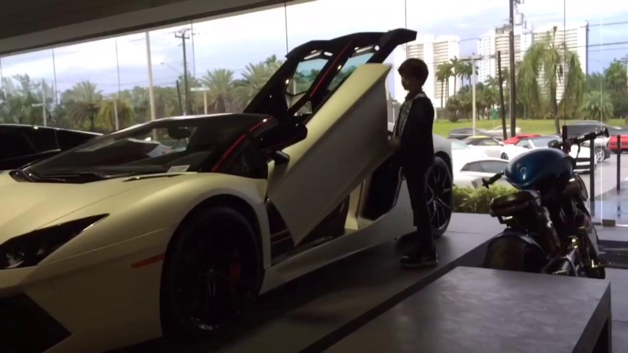 Lamborghini Aventador (the doors) & Lamborghini Aventador (the doors) - YouTube