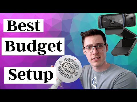 Streaming Budget Mic and Webcam (UNDER $100 IN 2021)
