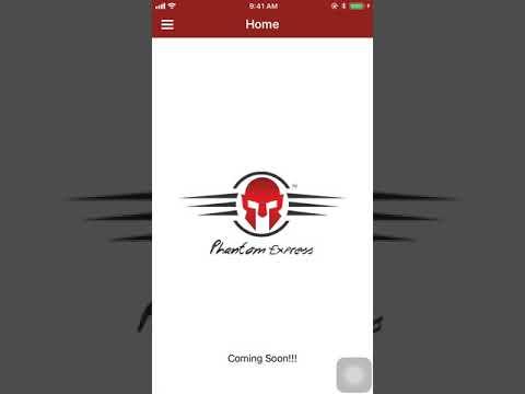 Phantom Express - Skyways Group of Companies (iOS Application)