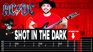 【AC/DC】[ Shot In The Dark ] cover by Masuka | LESSON | GUITAR TAB