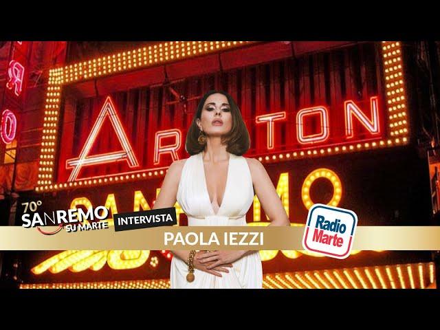 SANREMO SU MARTE - intervista a Paola Iezzi
