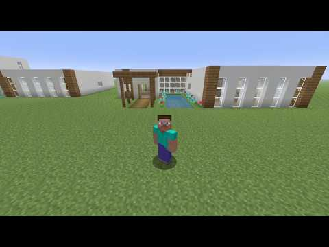 MINECRAFT - How To Build a Modern House on Minecraft (VERY EASY)