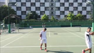 染矢・林-関大‐VS野口・笹井‐ふじおかクリニック・ホープ‐ 関西オープン 2016 準決勝