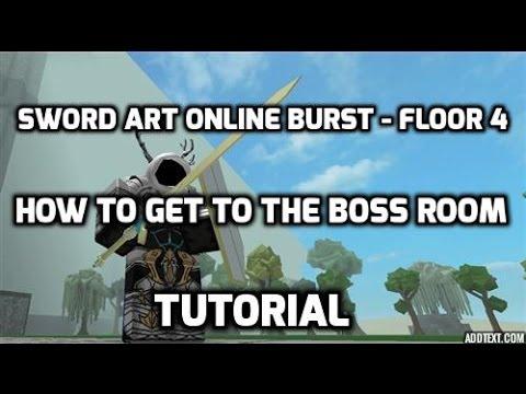 Full download sword art online burst roblox how to get for Floor 2 boss swordburst 2