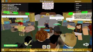 roblox you wil always be in our hearts tix