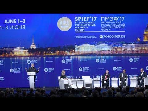 PM Narendra Modi at Plenary session of St Petersberg International Economic Forum, Russia