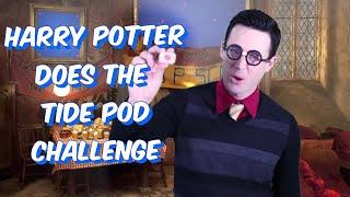 Harry Potter Does Tide Pod Challenge
