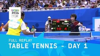 Table Tennis- Group Stage Round 2 Day 1 | Full Replay | Nanjing 2014 Youth Olympic Games