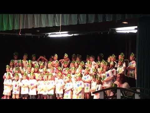 Kindergarten graduation Deltona elementary school 2019