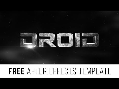 FREE After Effects Template